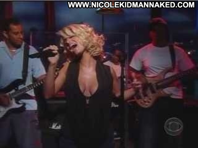 Jessica Simpson The Late Late Show With Craig Kilborn Black Breasts
