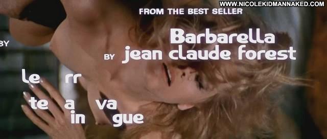 Jane Fonda Barbarella Big Tits Nude Nice Celebrity Breasts