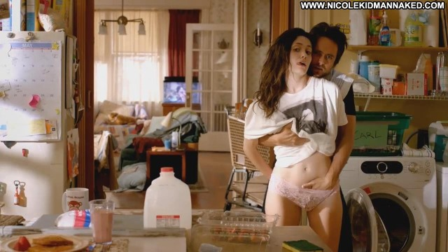 Emmy Rossum Shameless 2010 Grope Sleeping Kitchen Shirt