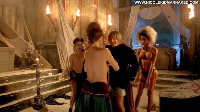 Desiree Malonga Transylmania Bra Dancing Showing Cleavage Topless Hd