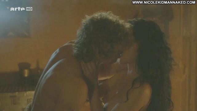 Karina Testa Odysseus Big Tits Celebrity Breasts Kissing