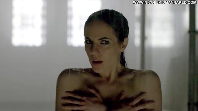 Anna Silk Lost Girl Breasts Prison Female Big Tits Shower Celebrity