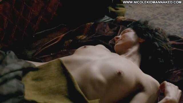 Caitriona Balfe Outlander Topless Kissing Celebrity Big Tits Floor