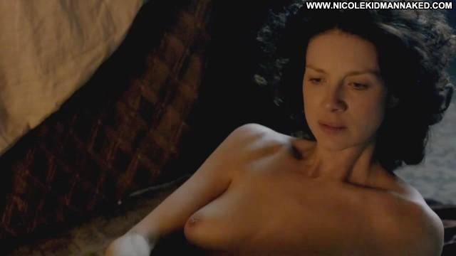 Caitriona Balfe Outlander Big Tits Celebrity Kissing Floor Bed