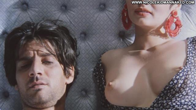 Cristina Garavaglia The Voyeur Legs Big Tits Breasts Magazine Bed