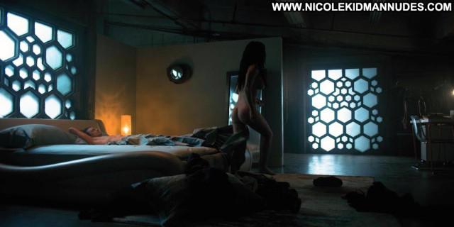 Martha Higareda Altered Carbon Celebrity Posing Hot Babe Bed