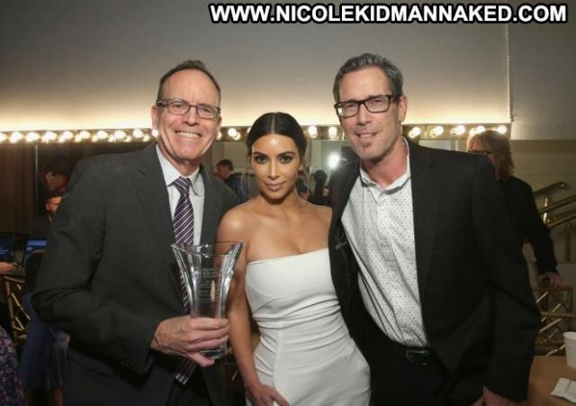 Kim Kardashian Beverly Hills Awards Celebrity Babe Beautiful