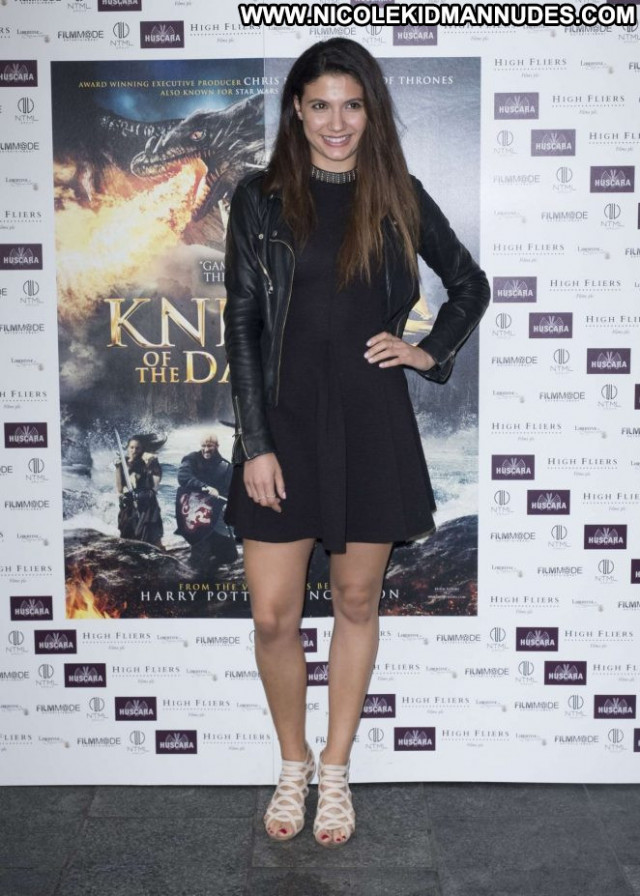 Andrea Vasiliou No Source Posing Hot Paparazzi London Beautiful Babe