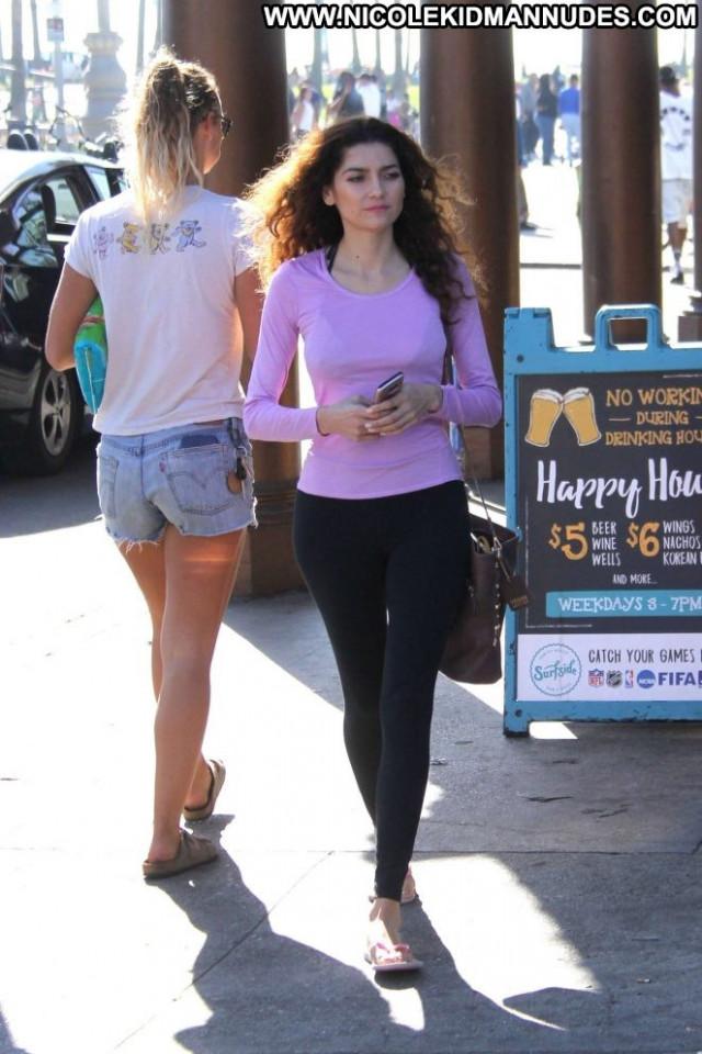 Blanca Blanco No Source Celebrity Paparazzi Black Babe Posing Hot