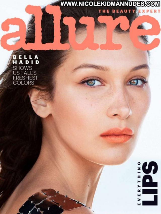Bella Hadid Allure Magazine Paparazzi Babe Magazine Posing Hot