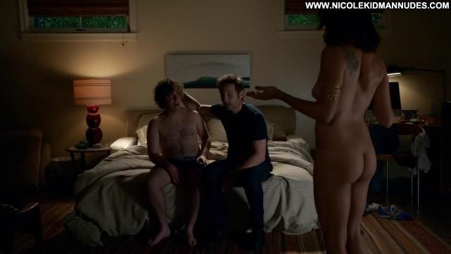 Brigette Davidovici No Source Pretty Topless Nude Babe Heels Toples