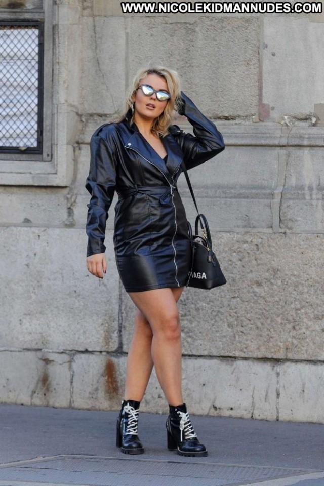 Tallia Storm No Source Paris Beautiful Paparazzi Posing Hot Babe