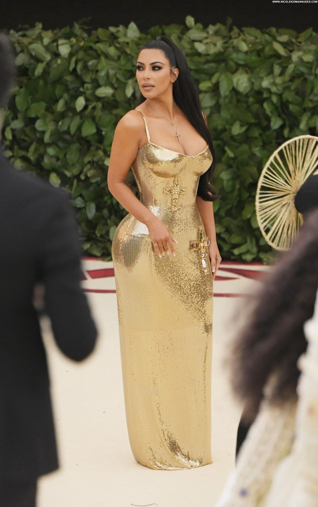 Kim Kardashian New York Fake Boobs Beautiful Big Tits Sexy Celebrity