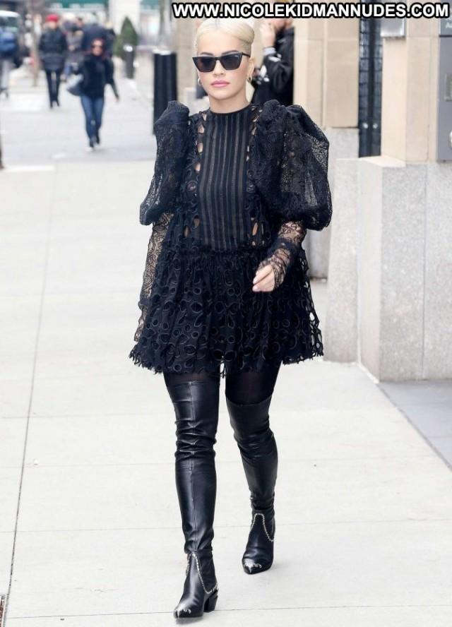 Rita Ora New York Babe Beautiful Paparazzi Posing Hot New York