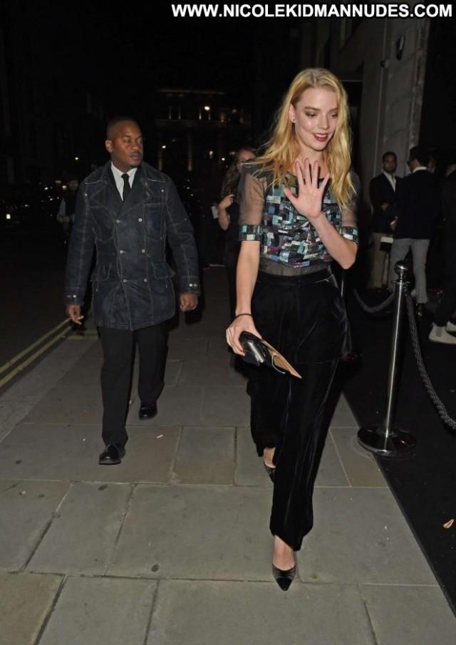 Anya Taylor Joy No Source London Paparazzi Posing Hot Party Babe