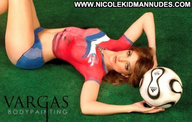 Hot Girl No Source Beautiful Sports Sex Body Painting Babe Legs