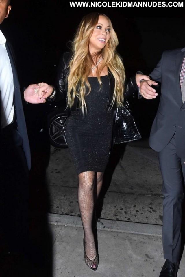 Mariah Carey West Hollywood Paparazzi West Hollywood Celebrity Black