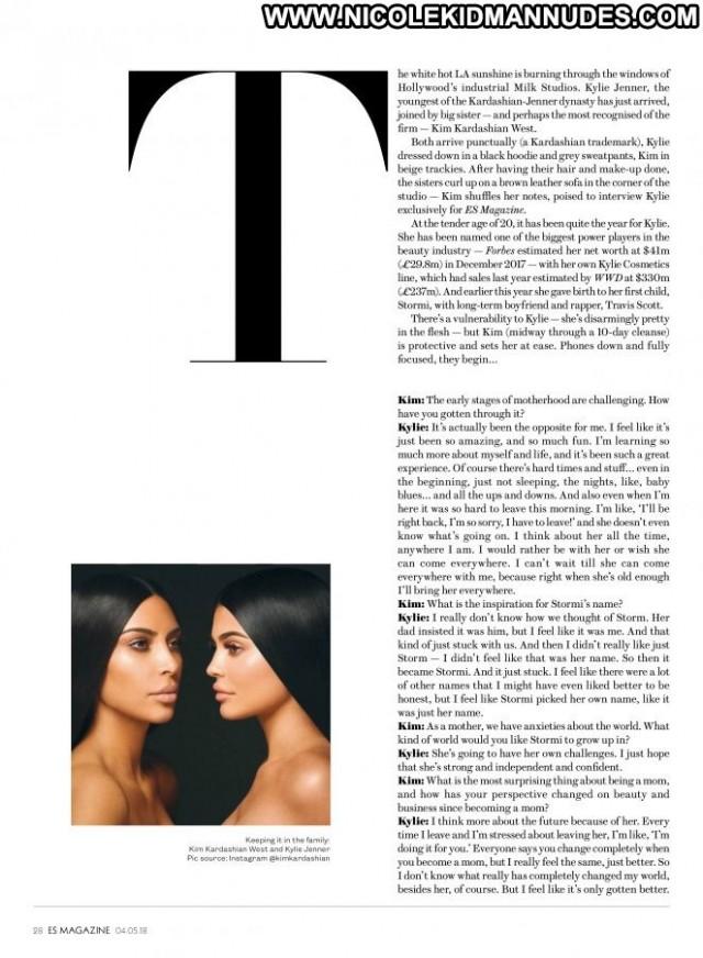 Kylie Jenner Style Magazine Paparazzi Beautiful Posing Hot Babe