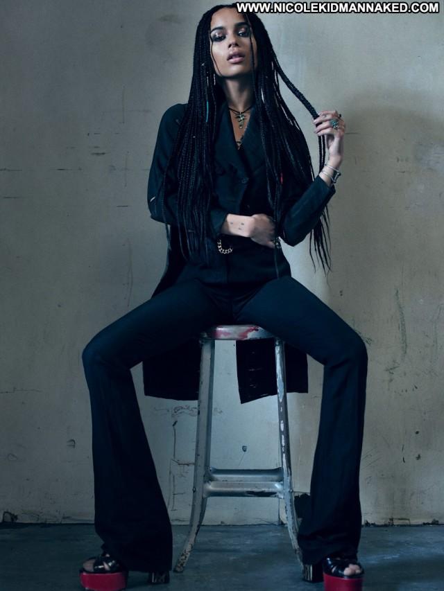 Zoe Kravitz Flaunt Magazine May 2015 Magazine Posing Hot