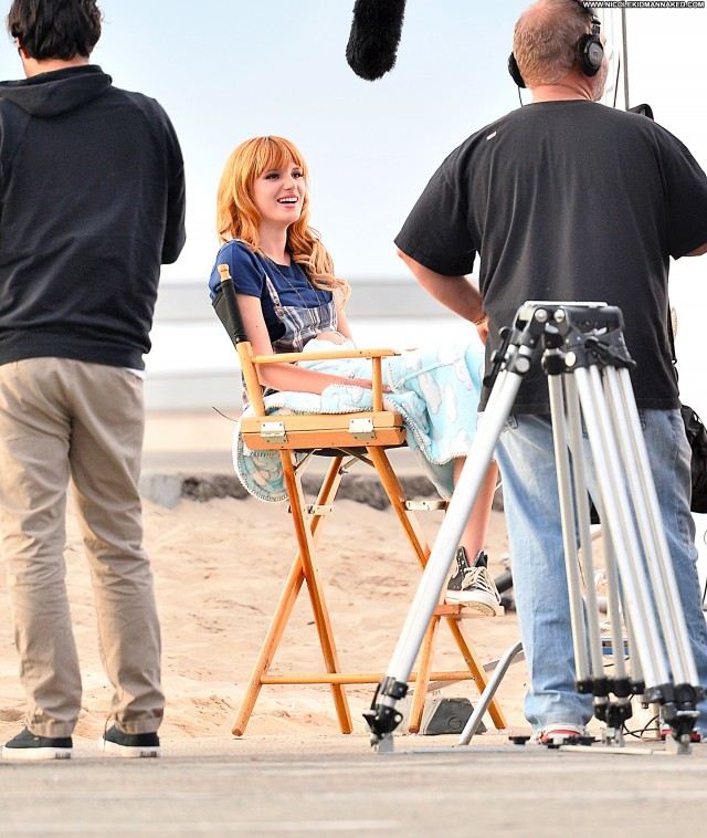 Bella Thorne Commercial  Celebrity Candids Commercial Posing Hot High
