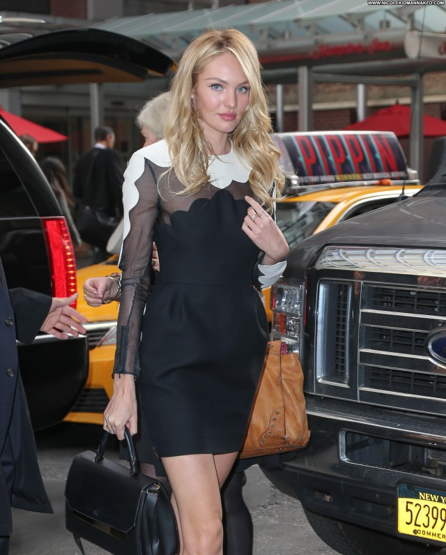 Candice Swanepoel New York High Resolution Babe Celebrity Candids