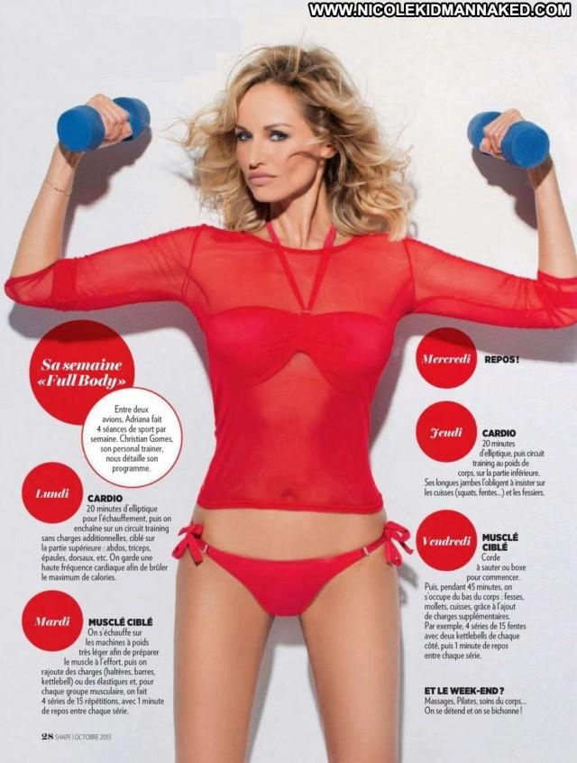 Adriana Karembeu Magazine France Posing Hot Babe Celebrity Magazine