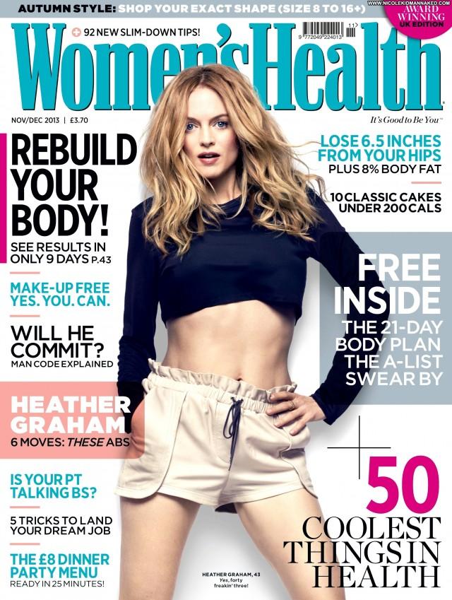 Heather Graham Magazine Celebrity High Resolution Magazine Posing Hot