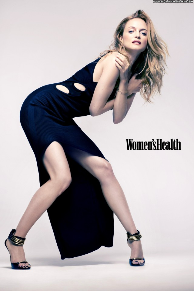 Heather Graham Magazine Posing Hot Beautiful Uk Magazine High