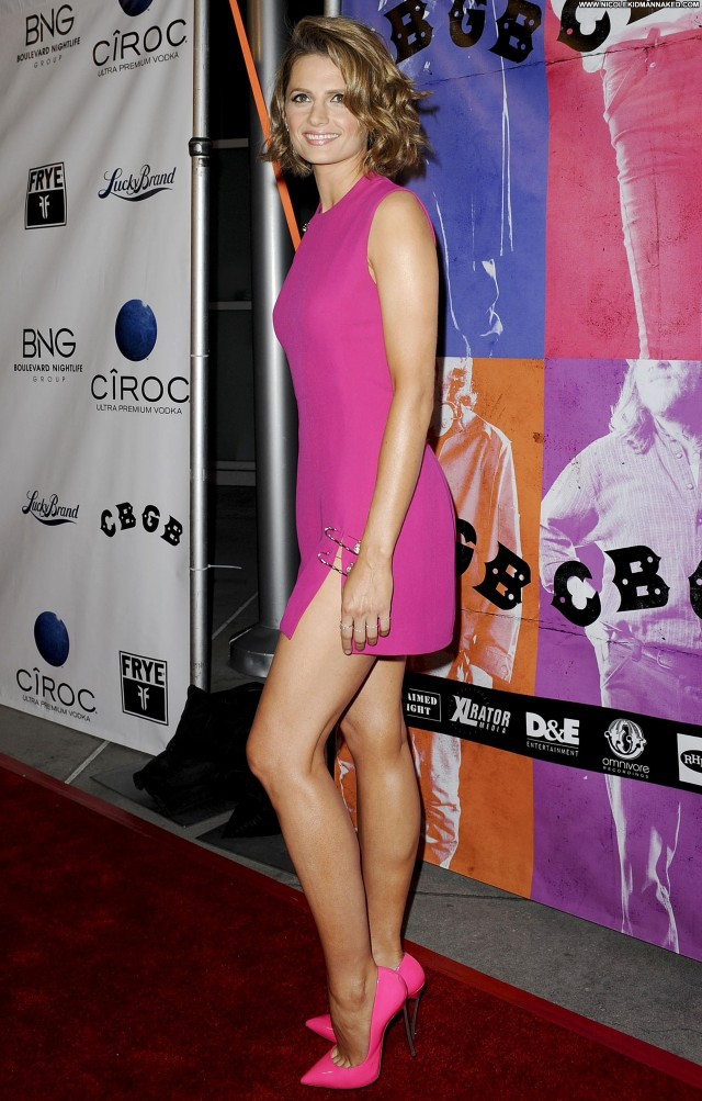 Stana Katic Los Angeles Hollywood High Resolution Celebrity Posing