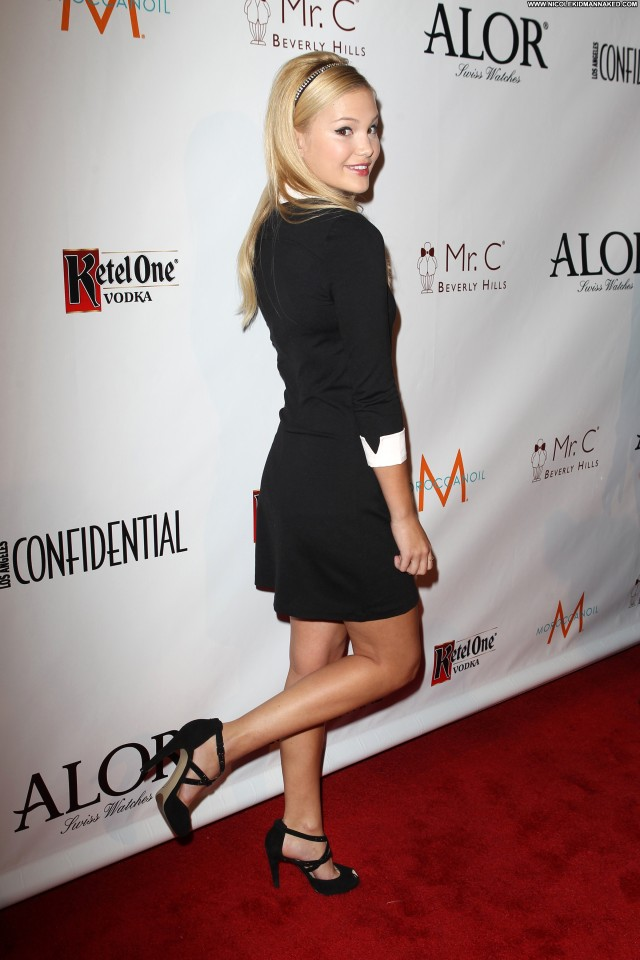 Olivia Holt La Confidential Party Celebrity Beautiful High Resolution