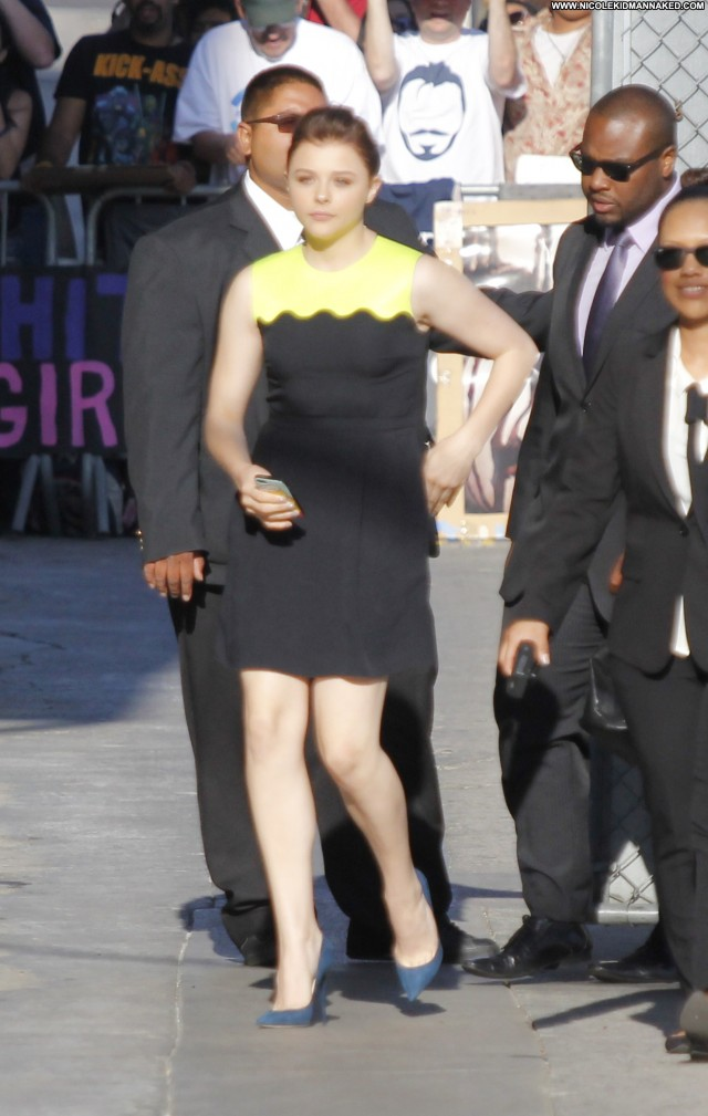 Chl  E Moretz Jimmy Kimmel Live Celebrity High Resolution Beautiful