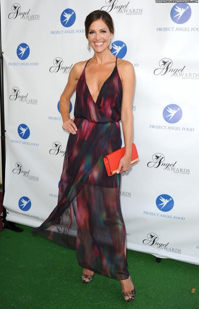 Tricia Helfer Los Angeles Posing Hot High Resolution Awards