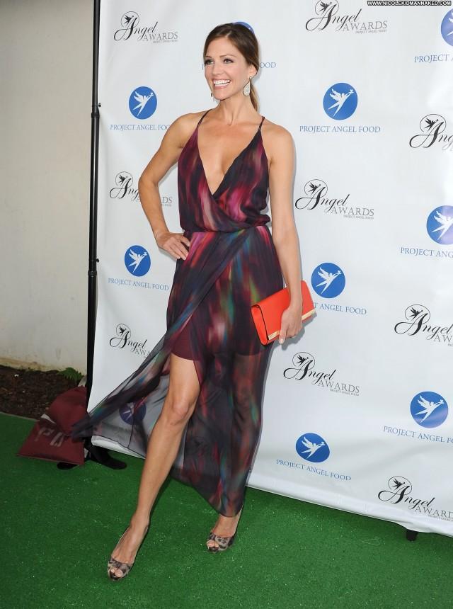 Tricia Helfer Los Angeles Food Babe Celebrity Posing Hot Summer High