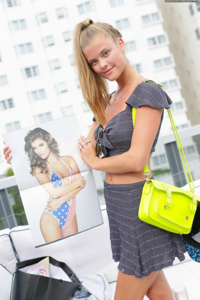 Nina Agdal Galore Magazine Bombshell Babe Party Posing Hot Celebrity