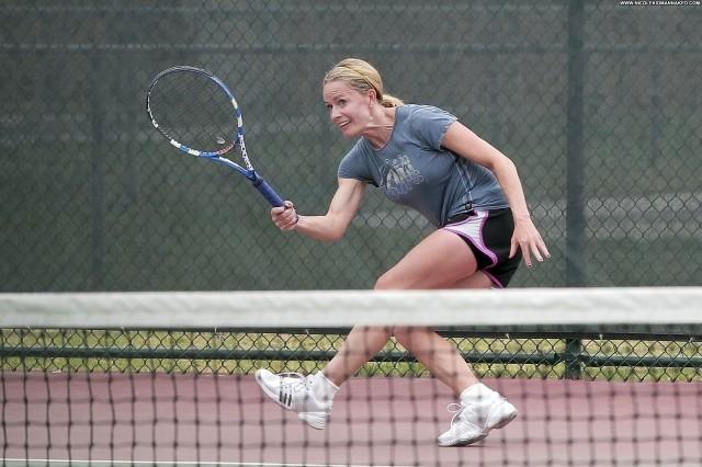 Elisabeth Shue Los Angeles Posing Hot Celebrity Tennis Babe Beautiful
