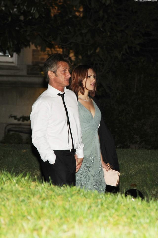 Scarlett Johansson No Source  Party Beautiful Babe Posing Hot High