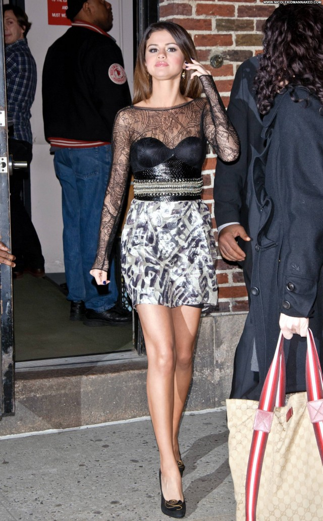 Selena Gomez Late Show With David Letterman Beautiful Celebrity Babe