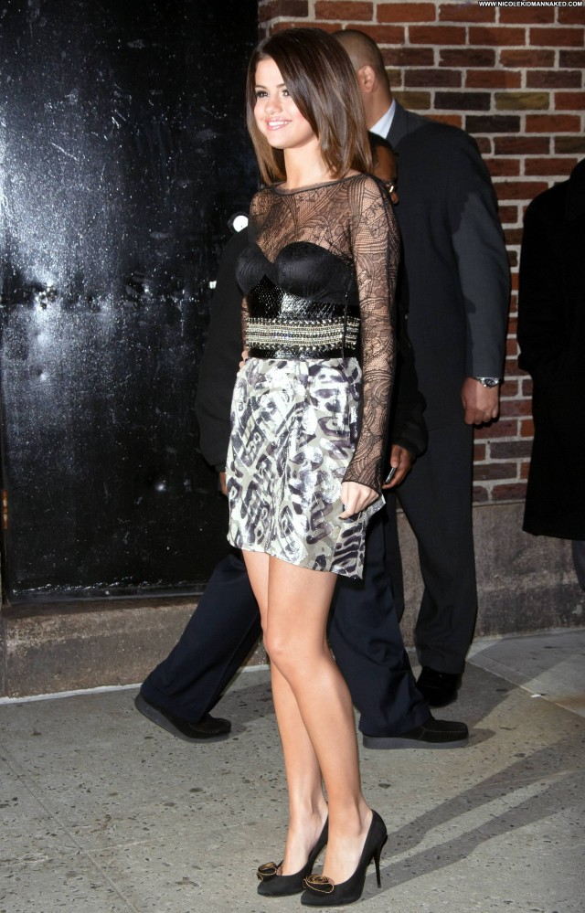Selena Gomez Late Show With David Letterman Beautiful Babe Celebrity