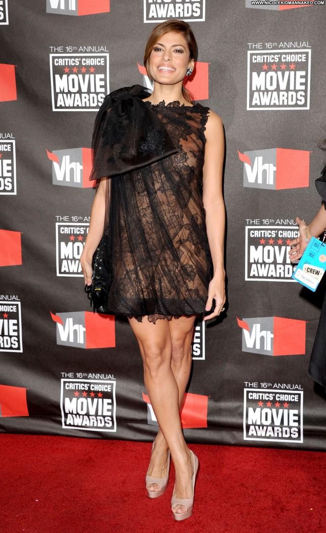 Eva Mendes Critics Choice Movie Awards Movie Beautiful Posing Hot