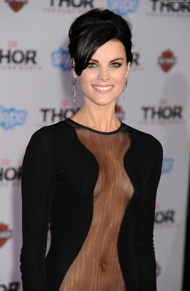 Jaimie Alexander Los Angeles Posing Hot Babe Hollywood Beautiful High