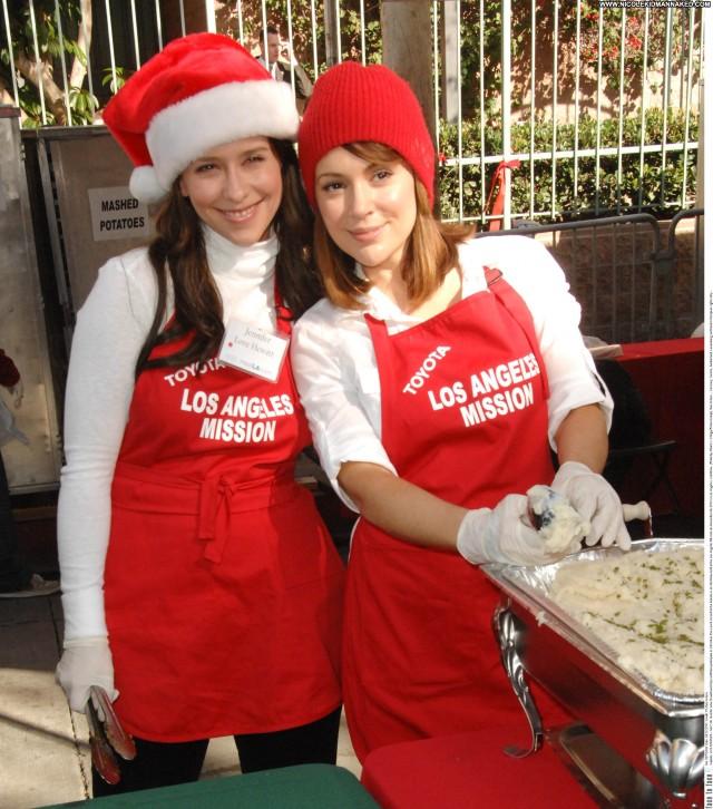 Jennifer Love Hewitt No Source Posing Hot Celebrity Babe Christmas