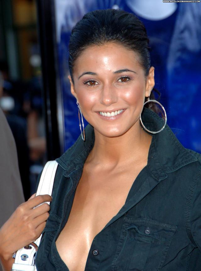 Emmanuelle Chriqui The Miami Vice Premiere In La Celebrity Posing Hot