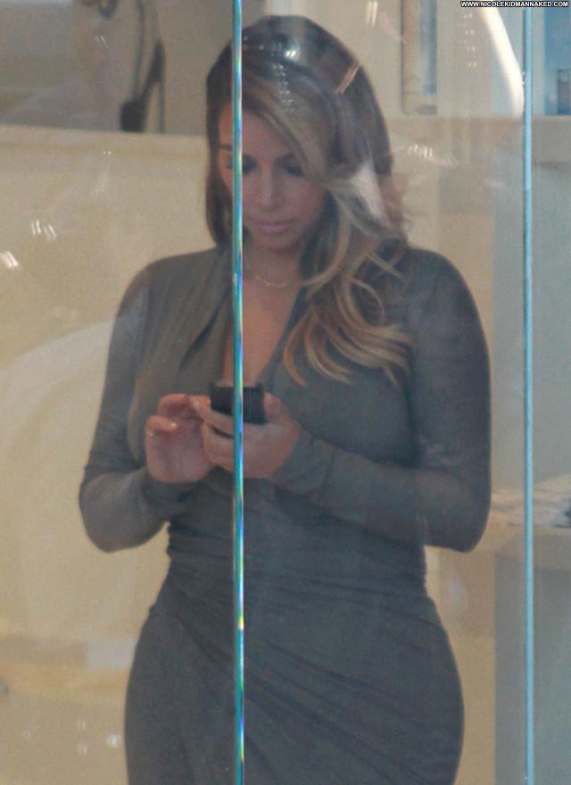 Kim Kardashian West Hollywood  High Resolution Beautiful Babe Candids
