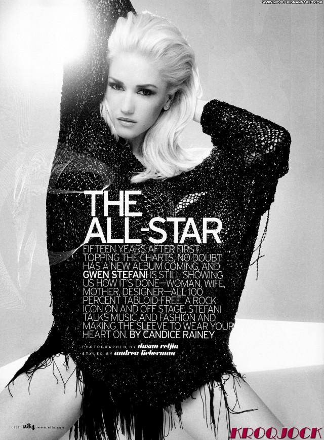 Gwen Stefani Magazine Beautiful Scans Magazine Babe Celebrity Posing