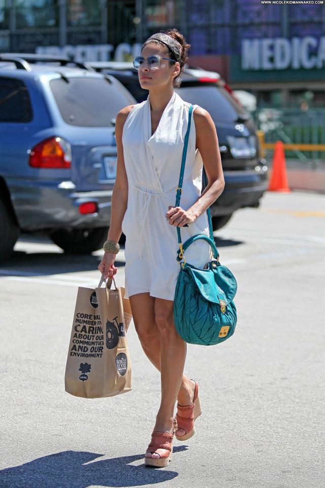 Eva Mendes Los Angeles Beautiful Posing Hot Los Angeles Babe