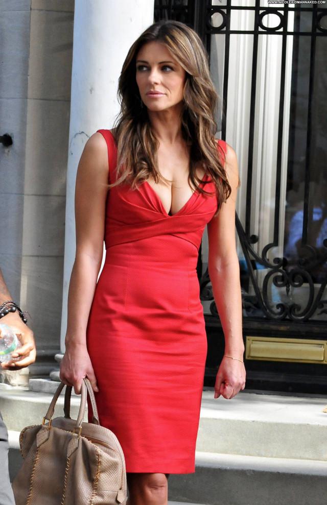 Elizabeth Hurley Gossip Girl High Resolution Celebrity New York