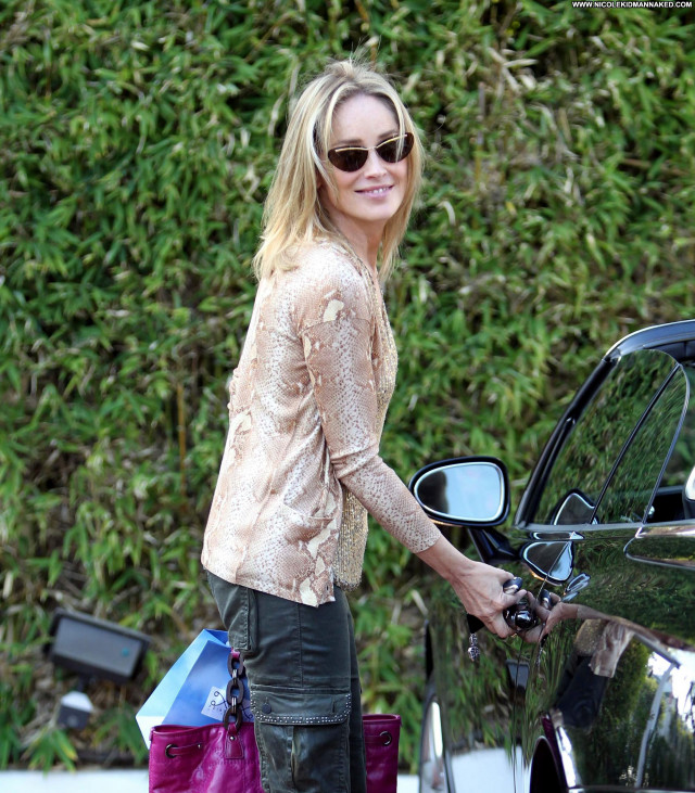 Sharon Stone West Hollywood High Resolution Babe Beautiful West