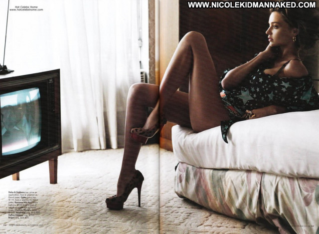 Miranda Kerr Harpers Bazaar Beautiful Sexy Babe Magazine Posing Hot