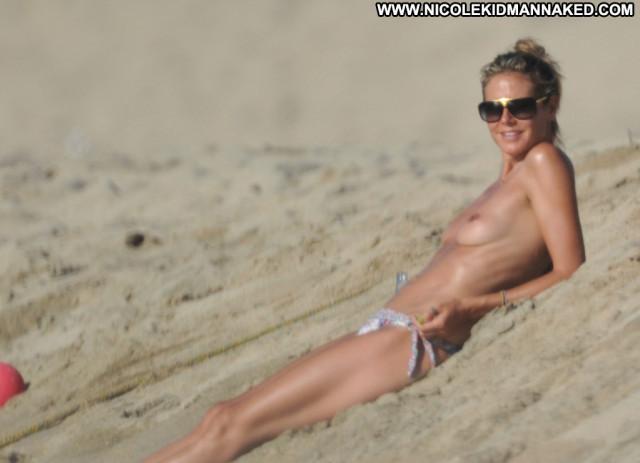 Heidi Klum No Source Topless Ibiza Usa Babe Beautiful Posing Hot