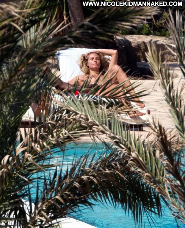 Heidi Klum No Source Posing Hot Usa Babe Celebrity Topless Nice Ibiza